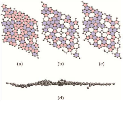 Geometries of amorphous graphene