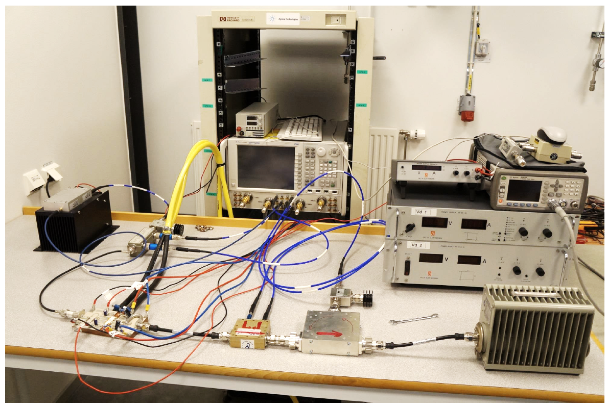Microwave Amplifiers Department Of Physics And Astronomy Uppsala High Power Amplifier At Freia We Also Developed Efficiency Modules Using Solid State Transistors 8 These A 10 Kw Was